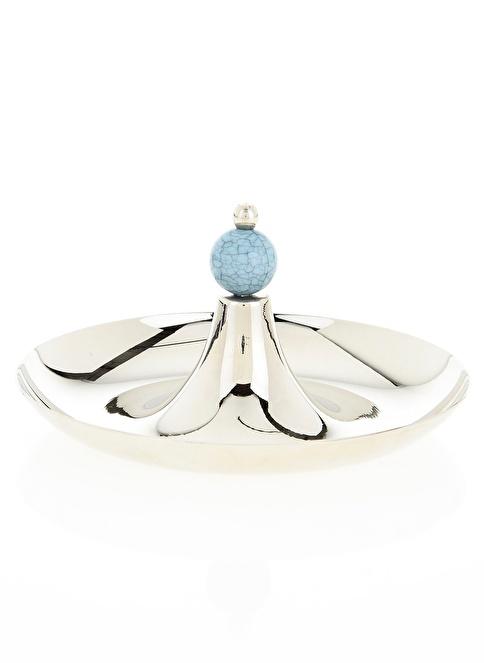 Aref By DECORİSTAN Taşlı Mini Gümüş Tek Katlı Sele Gümüş